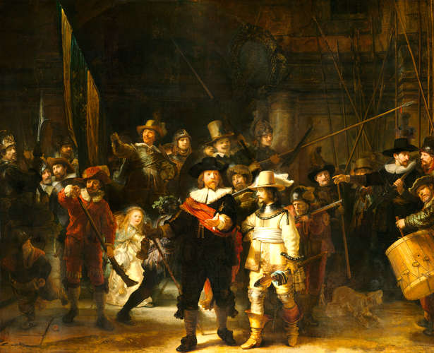From the Rijksmuseum Collection: Rembrandt van Rijn, <em>The Night Watch</em>, 1642
