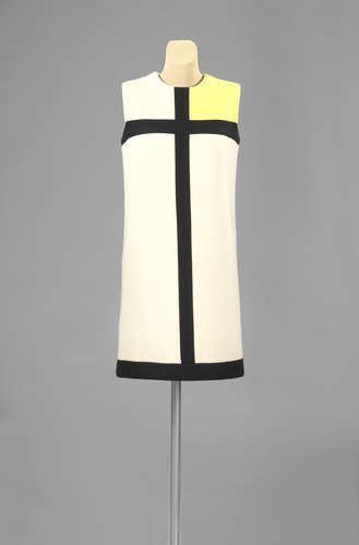 From the Rijksmuseum Collection: Yves Saint Laurent, <em>Mondriaan Dress</em>, 1966