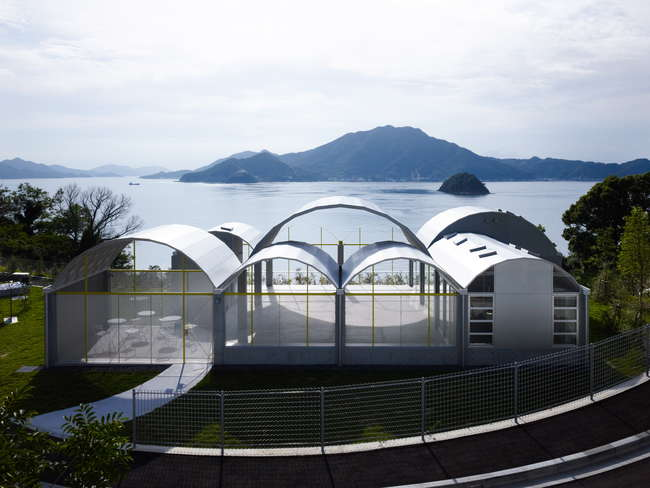 Toyo Ito Museum of Architecture (2006-11), Imabari-shi, Ehime, Japan