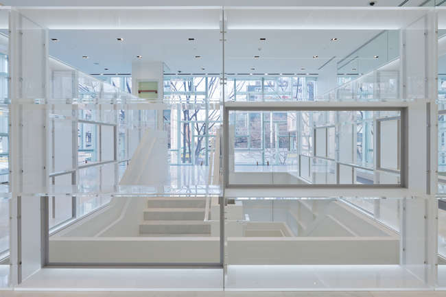 First Look: OMA's Coach Omotesando Flagship