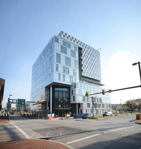 First Look: John and Frances Angelos Law Center at the University of Baltimore