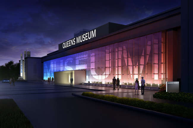 The firm&#8217;s renovation of the Queens Museum of Art aims to bring renewed purpose to a vast, Robert Moses-era building.<br />