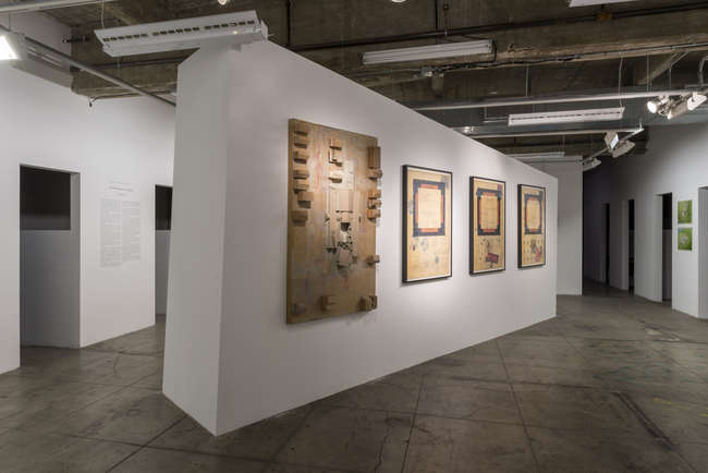 In a model and elaborate drawings, Studio Works' <em>South Side Settlement</em> (1975-80), built in Columbus, Ohio, is featured in SCI-Arc's Library Gallery (though much of the exhibition fills the sc
