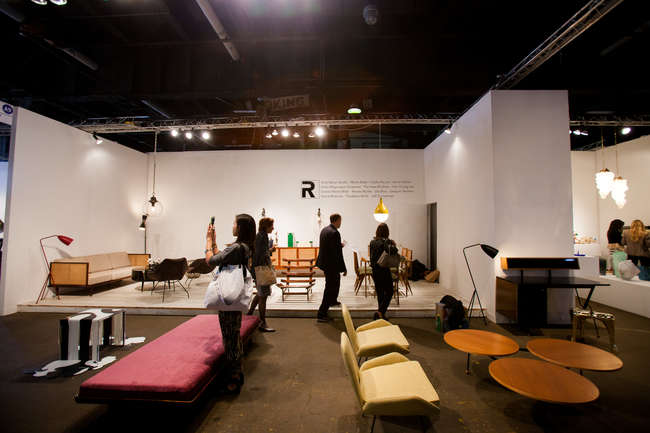 Installation view of R20th Century at the Collective.1 Design Fair.