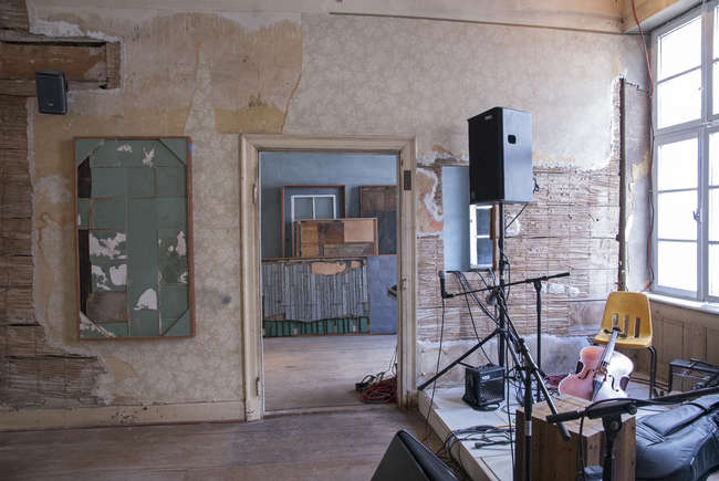 Theaster Gates, <em>12 Ballads for the Huguenot House</em>, 2012. Installation view, Documenta 13, Kassel, Germany.