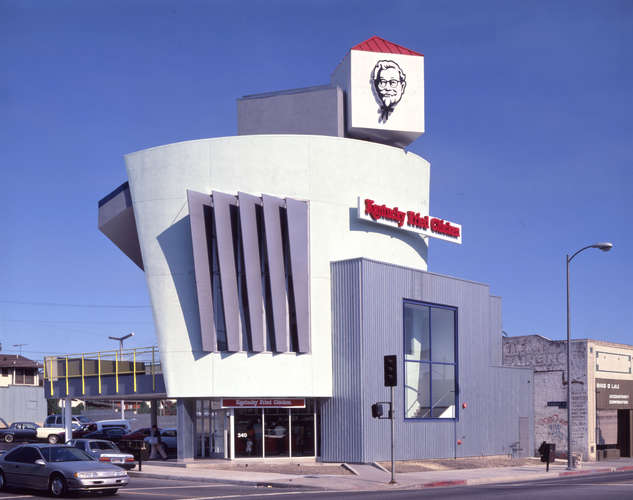 Kentucky Fried Chicken Restaurant, Los Angeles, Grinstein/Daniels Architects<br />