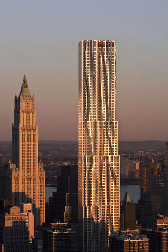 New York by Gehry (8 Spruce Street), New York City, Frank Gehry