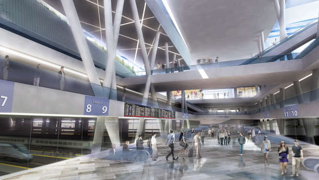 New Penn Station and Madison Square Garden Design Challenge<br />H3 Hardy Collaboration Architecture<br />New York City