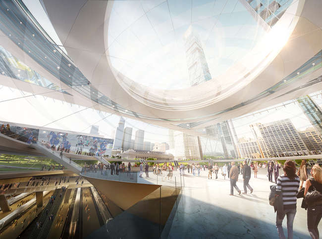 Penn Station and Madison Square Garden Vision Plan<br />Skidmore, Owings &amp; Merrill&#160;&#160;&#160; <br />New York City
