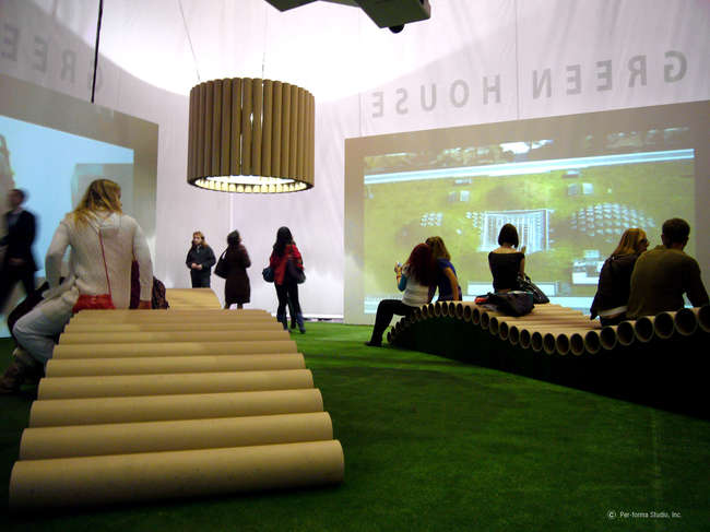 Green House Exhibit Pavilion<br />Per-forma Studio<br />Moscow