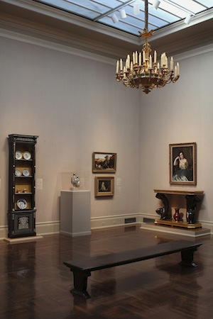 Flickering LED lights are more energy efficient and offer high quality lighting in the museums art galleries.