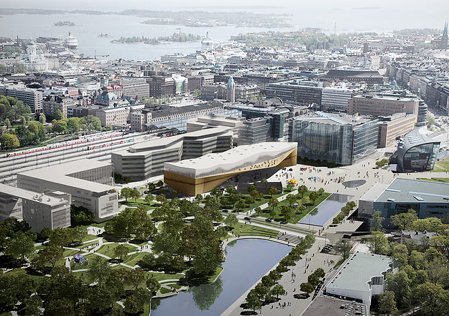 <p>Helsinki Library <br />ALA Architects</p>