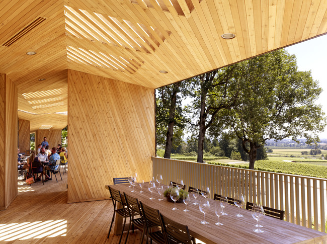 First Look: Sokol Blosser Tasting Room by Allied Works Architecture