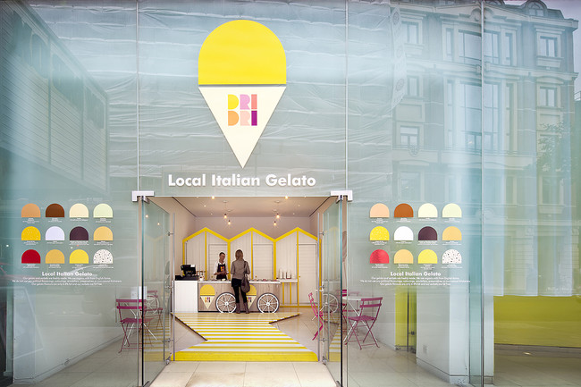 <p><strong><a href='http://www.dridrigelato.com/' target='_blank'>Dri Dri</a></strong><br />In 2011 the Front Room at St Martins Lane Hotel hosted a temporary installation that gelato company Dri Dri