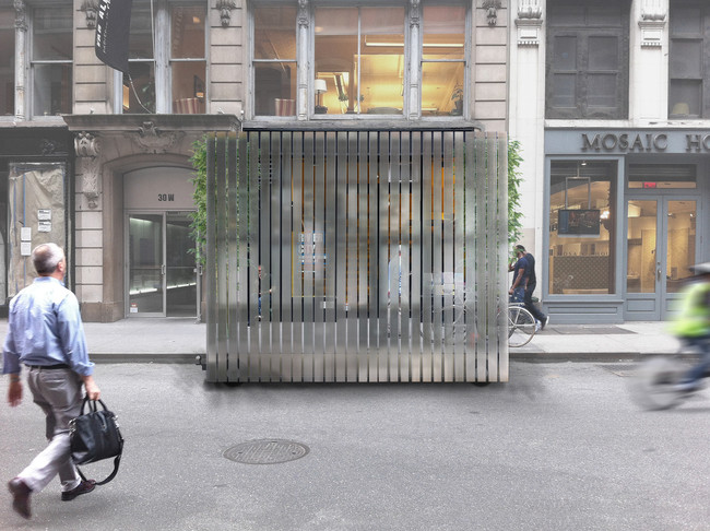 Van Alen Institute Competition Redesign Storefront