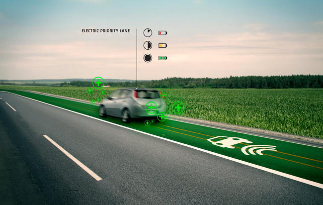 <strong>Smart Highway</strong><br />Dutch artist and designer Daan Roosegaarde designed a high tech highway to make roads sustainable and safe. The Smart Highway automatically adjusts with traffic and