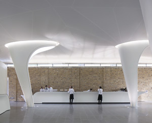 Zaha Hadid Serpentine Gallery Sackler Expansion