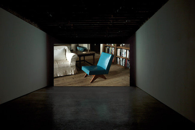 <p><em>Provenance</em><br />Amie Siegel<br />2013<br />HD video<br />40 min 30 sec. <br />installation view, Simon Preston, New York</p>