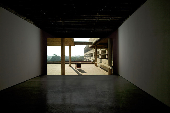 <em>Provenance</em><br /> Amie Siegel<br /> 2013<br /> HD video<br /> 40 min 30 sec. <br /> installation view, Simon Preston, New York