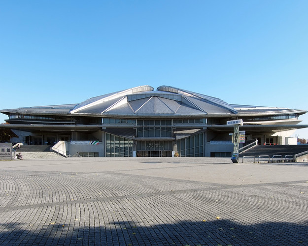 A range of existing facilities will be used for the 2020 Summer Olympic and Paralympic games, including Fumihiko Maki's Tokyo Metropolitan Gymnasium (1990).