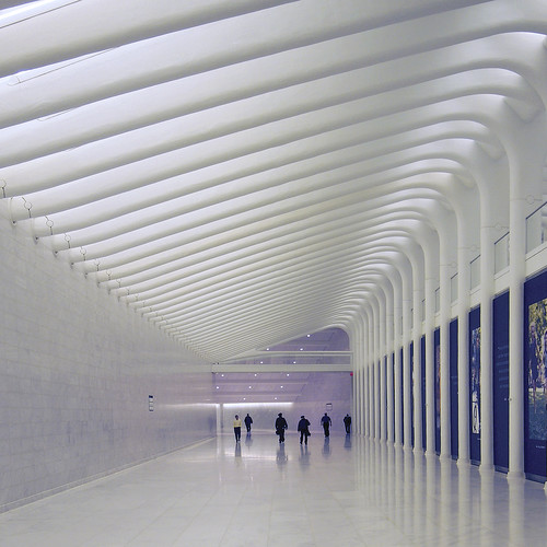 Santiago Calatrava World Trade Center transportation hub