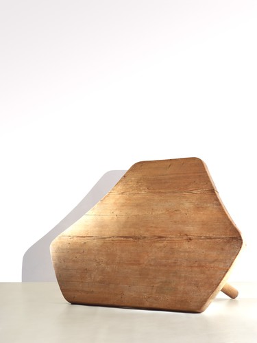 Charlotte Perriand<br />Six angled table (1950)<br />Wood<br />Provenance: The Coquatrix apartment, Paris<br />