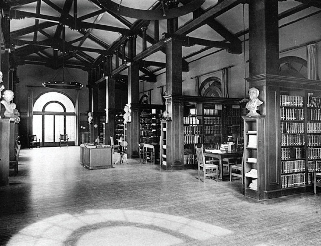 Mills College Library in Oakland, California