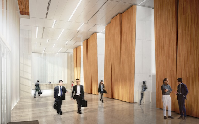 Renderings of KPF's Sequis Centre Tower