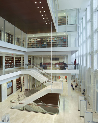 <p><strong>For Architecture:</strong> &#8232;</p><p>St. Louis Public Library, Central Library Transformation and Restoration<br />&#8232;Cannon Design&#8232;<br />St. Louis</p>