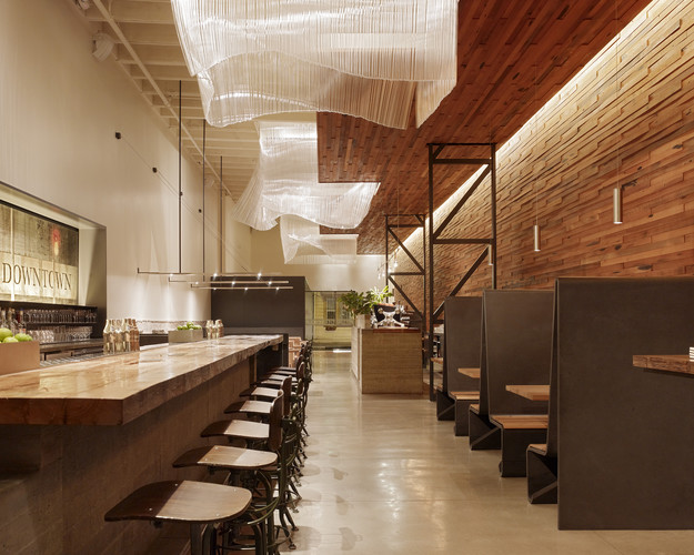 <p><strong>For Interior Architecture:</strong></p><p><a href='http://archrecord.construction.com/projects/recordinteriors/2011/bar-agricole.asp' target='_blank'>Bar Agricole</a><br />Aidlin Darling De