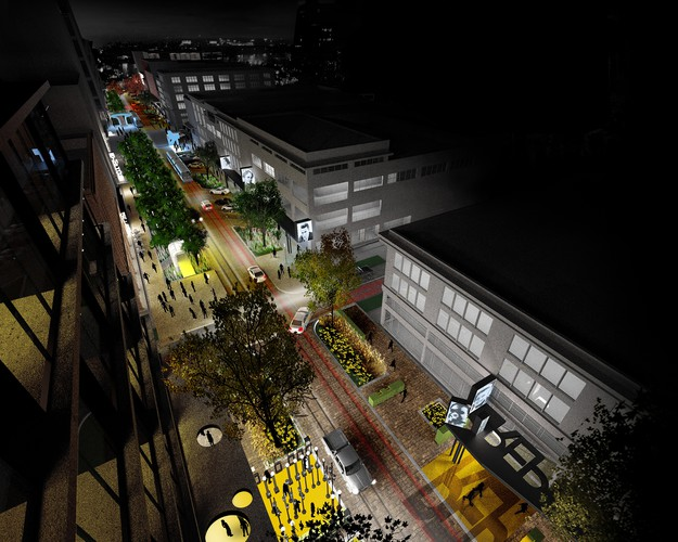 <p><strong>For Regional and Urban Design:&#8232;</strong></p><p>The Creative Corridor: A Main Street Revitalization for Little Rock&#8232;<br />University of Arkansas Community Design Center + Marlon