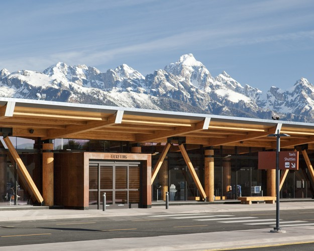 <p><strong>For Architecture: </strong></p><p>Jackson Hole Airport<br />Gensler&#8232;<br />Jackson, Wyoming</p>