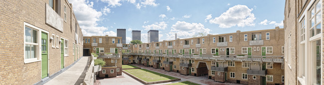 Glory of Spangen Social Housing Complex Restored