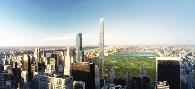 Community Forum Questions Crop of Tall Buildings Around Central Park