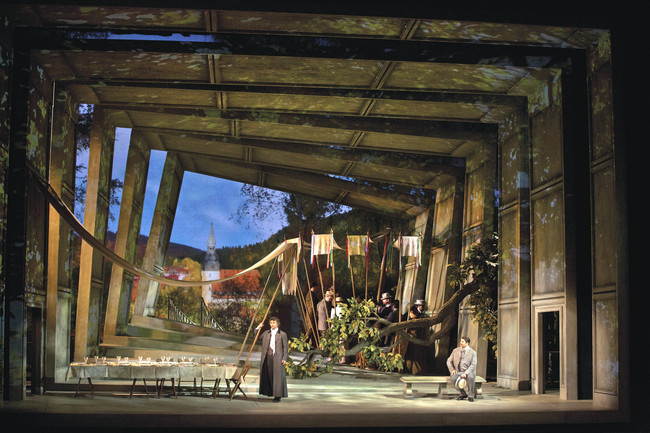 Act Two: The Linden Trees, from Massenet&#8217;s <em>Werther</em>, Metropolitan Opera. <br />