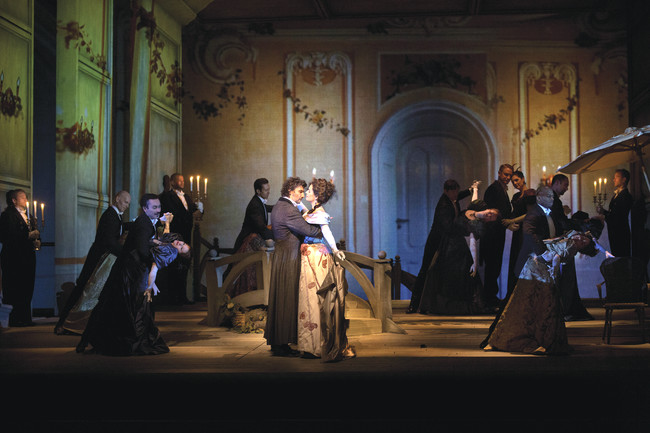The Ballroom Scene from Massenet&#8217;s <em>Werther</em>, Metropolitan Opera.<br />