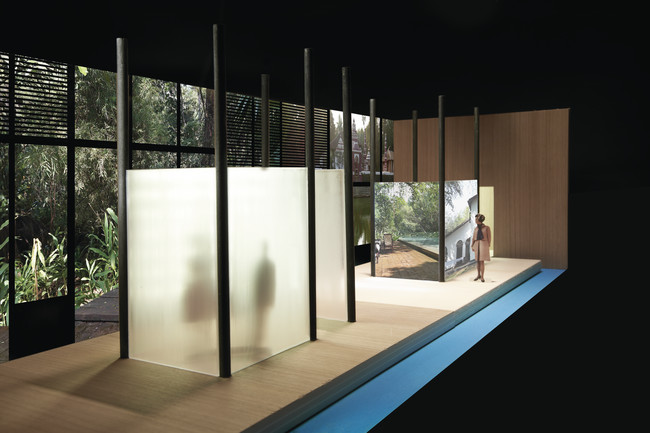 A maquette of Jain's installation for <em>Where Architects Live</em>.