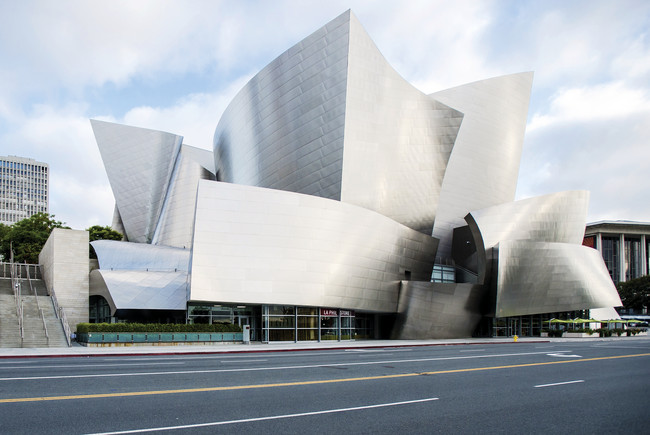 The Innovation Conference took place at Frank Gehry's Walt Disney Concert Hall.