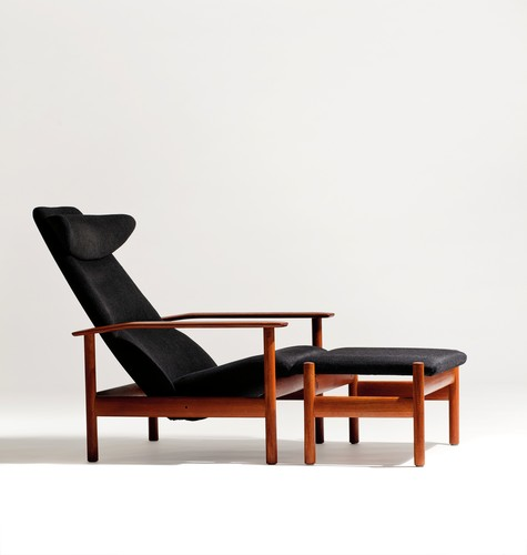 Sven Ivar Dysthe, 1001 Reclining Chair, c. 1960