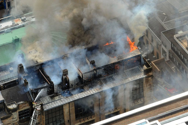 Glasgow School of Art fire
