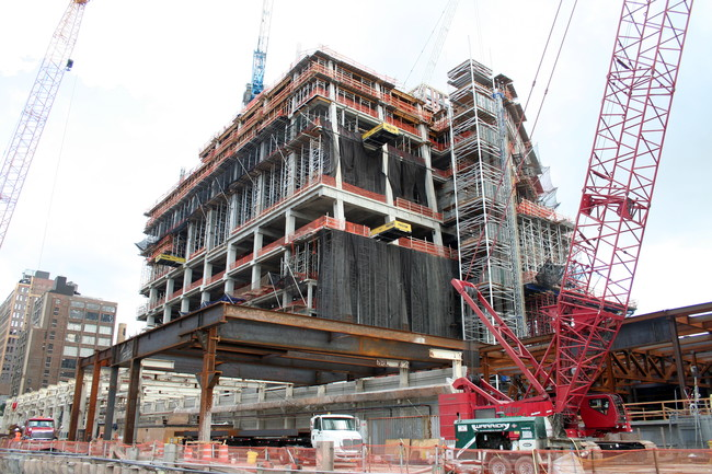 Beam by Beam, a Mega-Project Grows