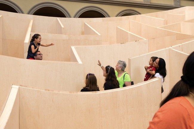 First Look: BIG's BIG Maze at the National Building Museum