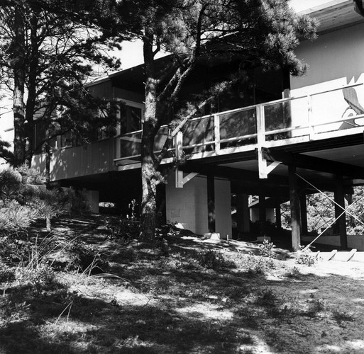 The Weidlinger House in 1953.