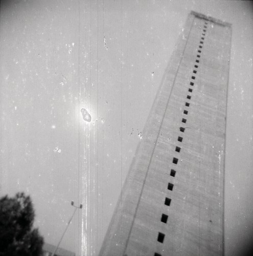Ziad Antar, Murr Tower, Wadi Abu Jmil, Built In 1973, from the <em>Expired</em> series (2009).