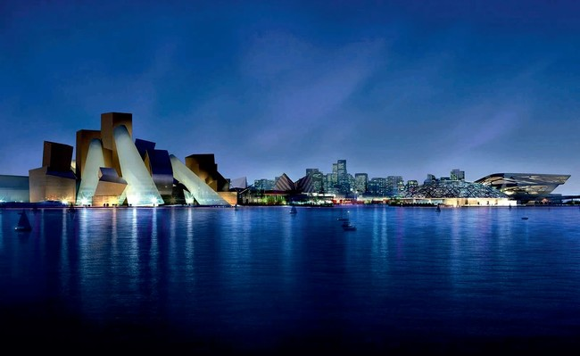 What Is Frank Gehry Doing About Labor Conditions in Abu Dhabi?