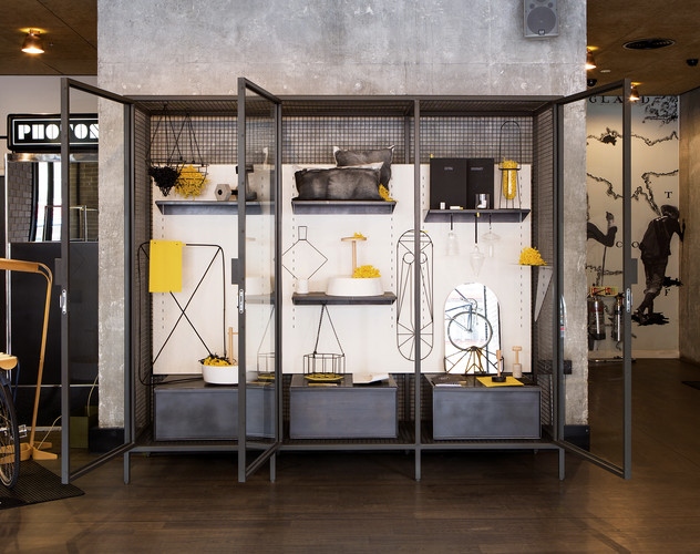 Students from the Italian design school Fabrica were among the festival's growing international contingent. Extra-Ordinary Gallery shown at east London's Ace Hotel is a collection of every
