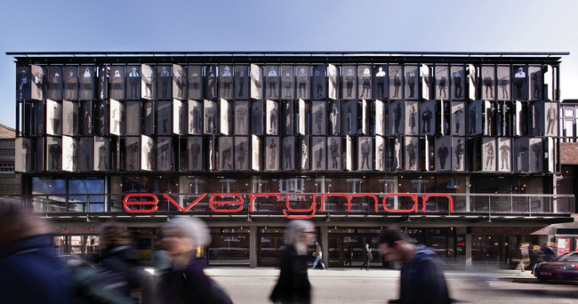 The Royal Institute of British Architects has awarded this year's Stirling Prize for best building to the Everyman Theatre in Liverpool. Haworth Tompkins Architects recently rebuilt and greatly expand