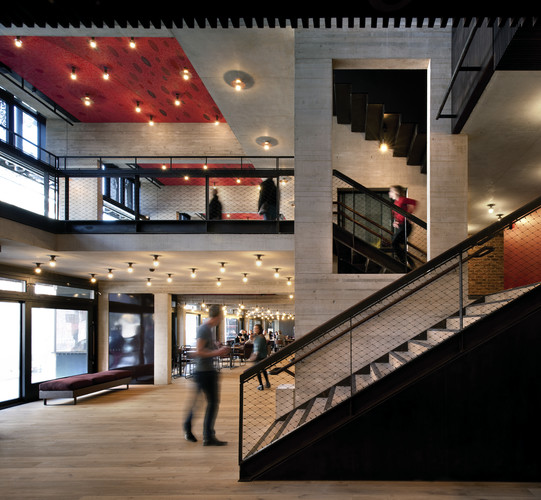 The Royal Institute of British Architects has awarded this year's  Stirling Prize for best building to the Everyman Theatre in Liverpool.  Haworth Tompkins Architects recently rebuilt and greatly expa
