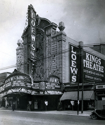 A historic photo of the theater.