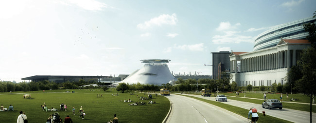 Ma Yansong Unveils Design for George Lucas Museum